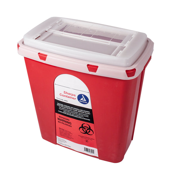 Dynarex - Sharps Containers, 6gal., 12/case