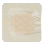 "DynaFoam AG Bordered Silver Foam Dressing - 4""x4"""