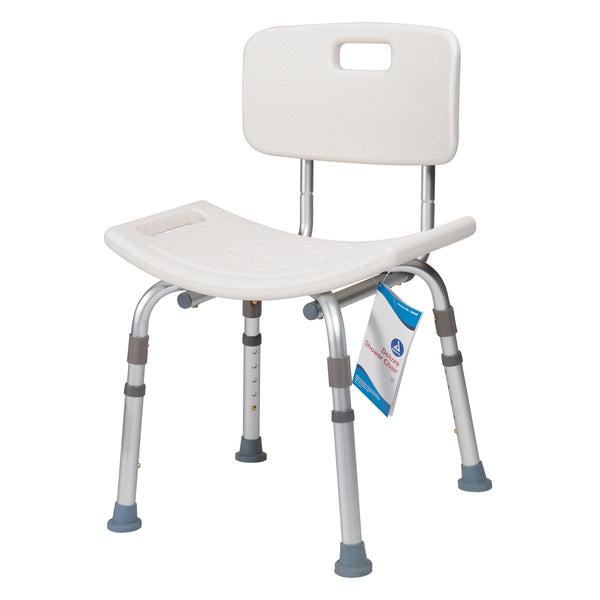 Dynarex - Deluxe Shower Chair with Back