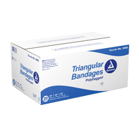 "Dynarex - Triangular Bandages, 40"" x 40"" x 56"", 240/case"