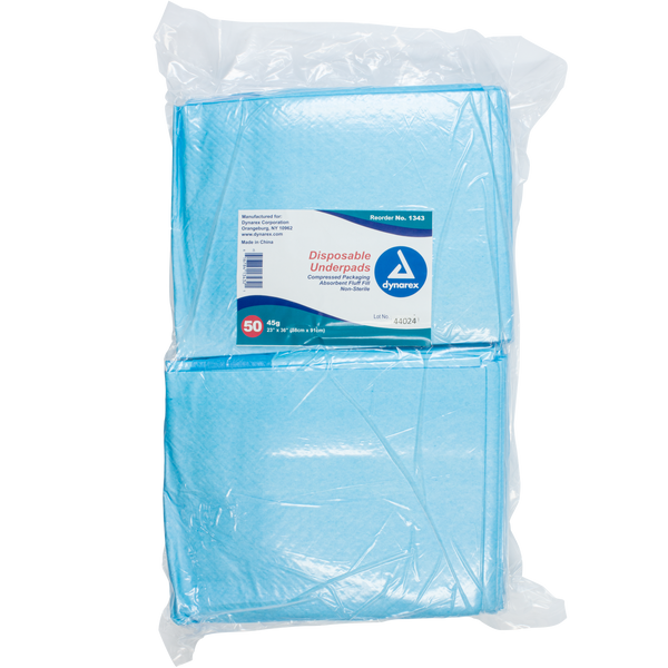 Dynarex - Disposable Underpads, 23 x 36 (45 g)