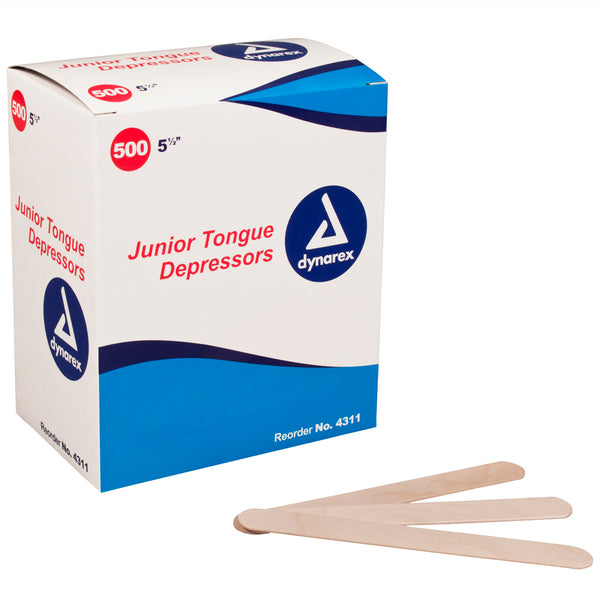 Dynarex - Non-Sterile Wood Tongue Depressors
