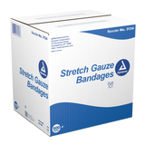 Dynarex - Non-sterile Stretch Gauze Bandage, 500/case or pack of 12