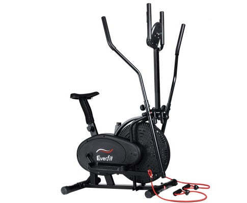EVERFIT 5 IN 1 ELLIPTICAL CROSS TRAINER EXERCISE BIKE
