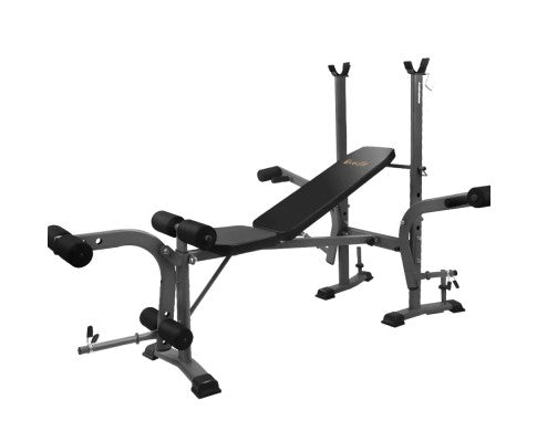 EVERFIT MULTI INCLINE WEIGHT BENCH PRESS STATION