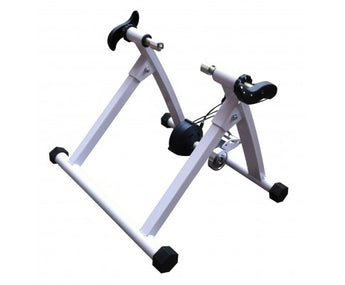 INDOOR MAGNETIC BICYCLE TRAINING RESISTANCE STAND