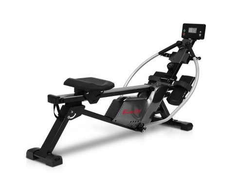 EVERFIT MAGNETIC FULL MOTION ARMS CARDIO FITNESS ROWING MACHINE