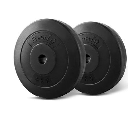 EVERFIT GYM FIT WEIGHT PLATE 2 X 5KG