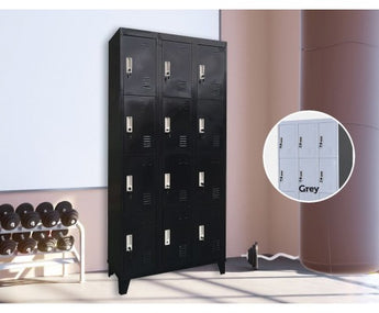 12 DOOR GYM LOCKER