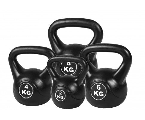 4PCE KETTLE BELL WEIGHT SET 20KG