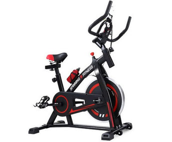 FLYWHEEL FITNESS SPIN BIKE WITH BONUS PHONE HOLDER