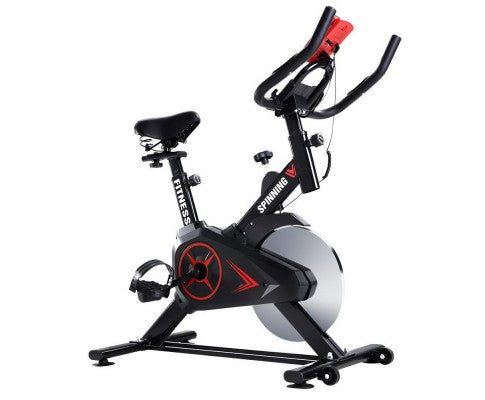 SPIN BIKE WITH PHONE HOLDER