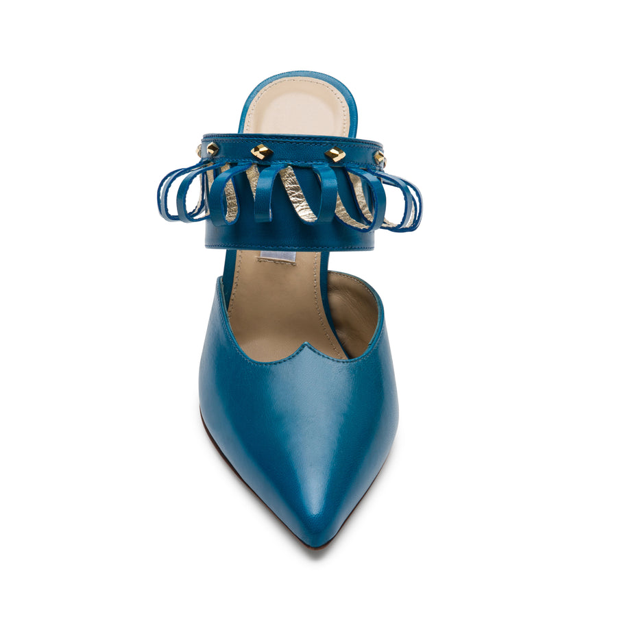 Pointed-toe shoes: Lumi Turquoise