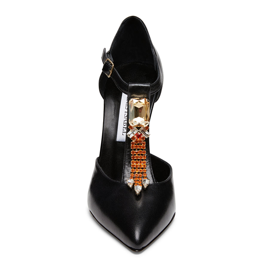 Dress Shoes: Bejeweled Baby Black