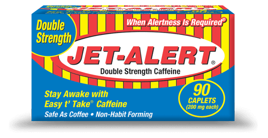 Jet-Alert Double Strength Caffeine