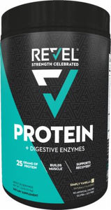 Revel Women's Protein Powder + Digestive Enzymes