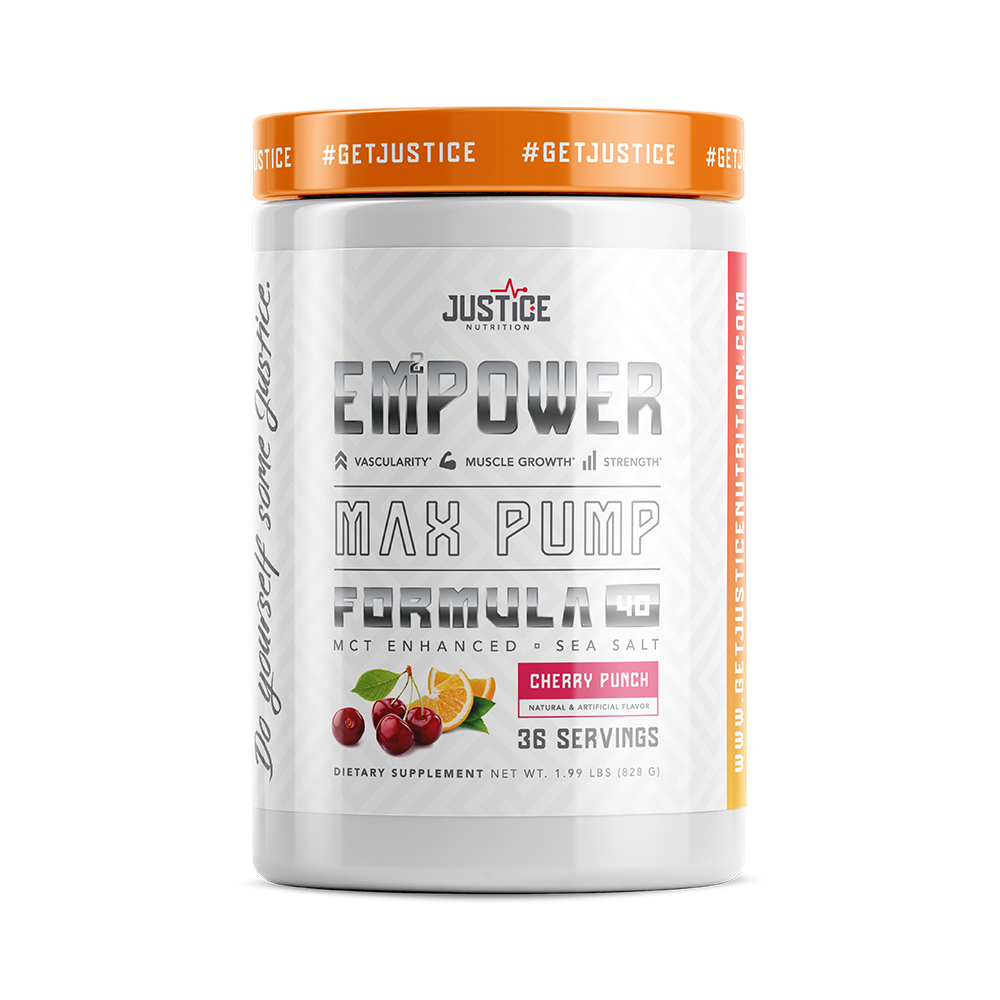 Justice Nutrition EMPOWER