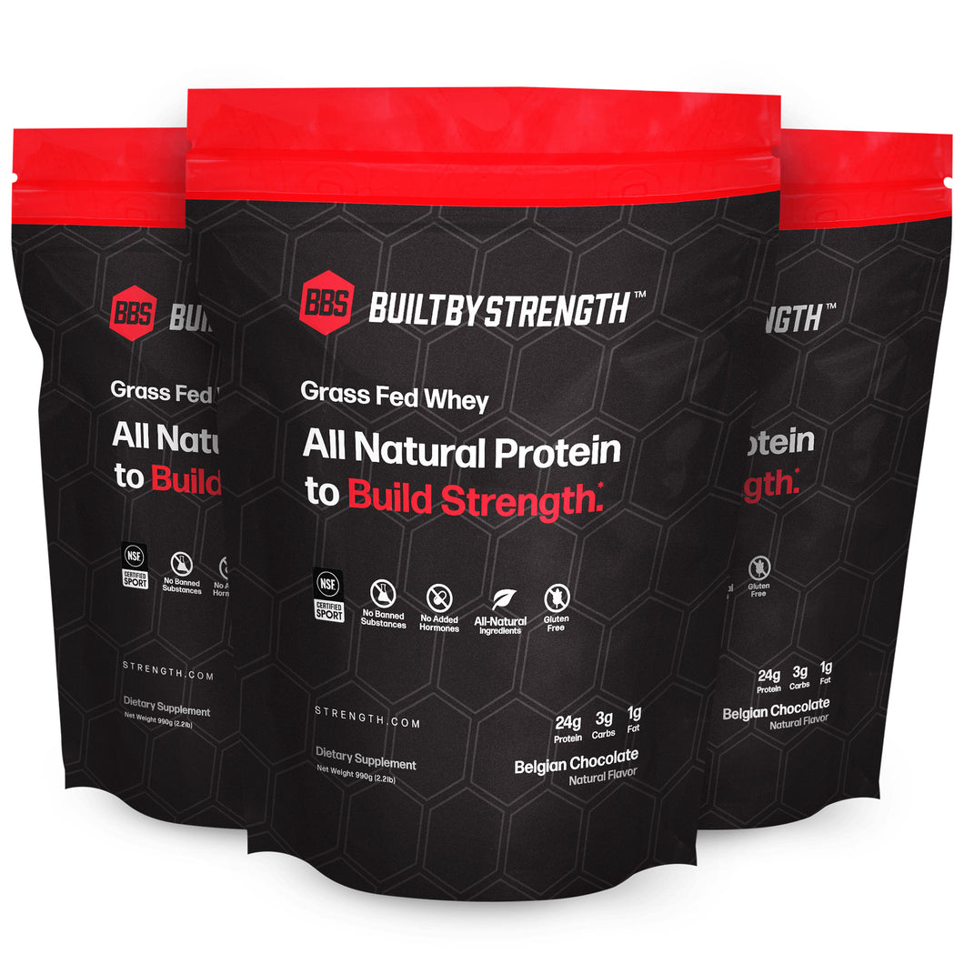 BuiltByStrength Grass-Fed Whey Protein