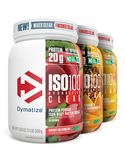 Dymatize ISO100 Hydrolyzed Clear 100% Whey Protein Isolate