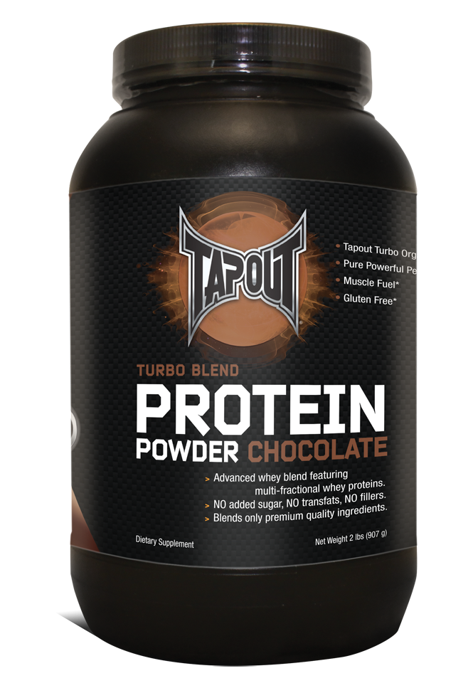 TapouT Turbo Blend Protein Powder