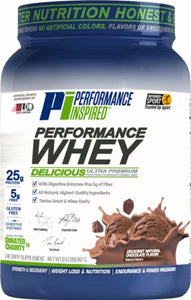 Performance Inspired Whey Protein