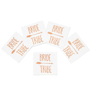 Rose Gold Bride Tribe Tattoos