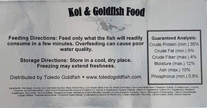 TG Goldfish & Koi Fish Food - 5mm Floating Pellets
