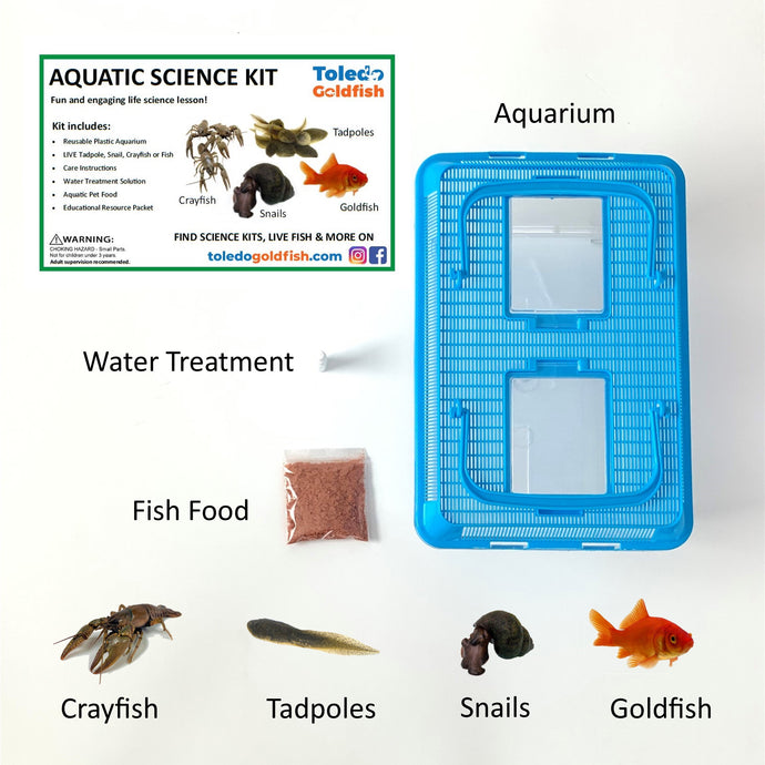 Toledo Goldfish Aquatic Science Kit