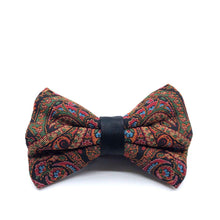 Load image into Gallery viewer, Termeh Bowtie and Pocket Square Set