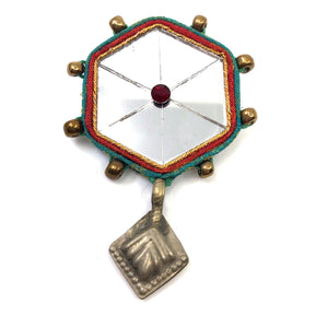 Mirror Brooch