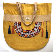 Load image into Gallery viewer, Embroidery Tote Bag