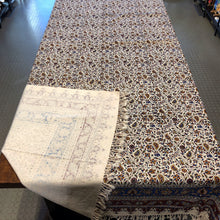 Load image into Gallery viewer, Cotton Table Cloth with Block work 160 x 240