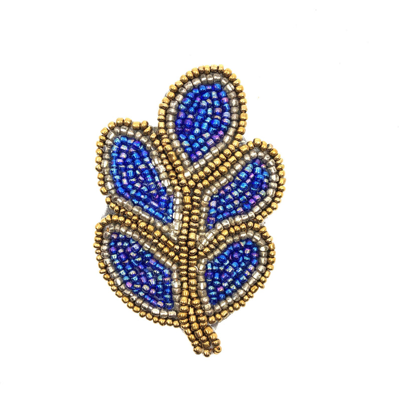 Beaded Brooch