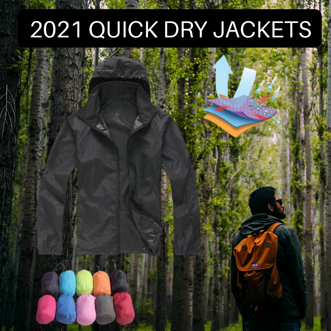 2021 FIT TECH QUICK DRY JACKET