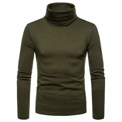 Silk Soft Turtle Neck