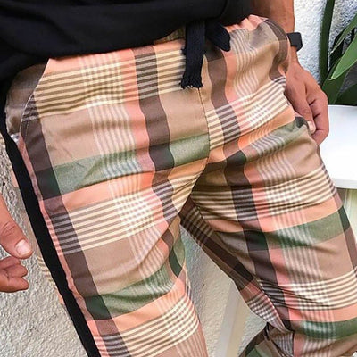 2021 PLAID STREET TROUSERS