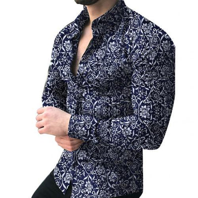 Royal Ornate Dress Shirt