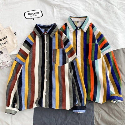 VINTAGE CORDUROY BUTTON UP