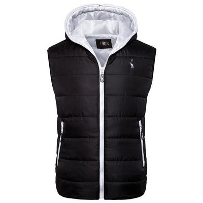 2021 HOODED SLEEVELESS PUFFER