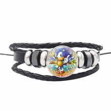 Load image into Gallery viewer, 2020 Anime Game Sonic The Hedgehog Lanyard Keys Phone Neck Strap Work Id Card Key Holder Ribbon Chain Sonic Action Figure Toys