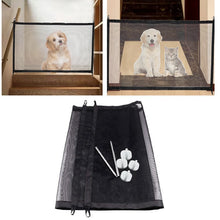 Load image into Gallery viewer, 2019 Magic Pet Dog Gate Pet Fence Barrier Folding Safe Guard Indoor Outdoor Puppy Dog Separation Protect Enclosure Pet Supplies