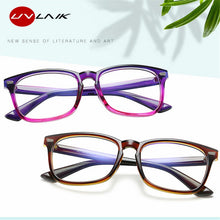 Load image into Gallery viewer, UVLAIK Blue Light Glasses Men Computer Glasses Gaming Goggles Transparent Eyewear Frame Women Anti Blue ray Eyeglasses