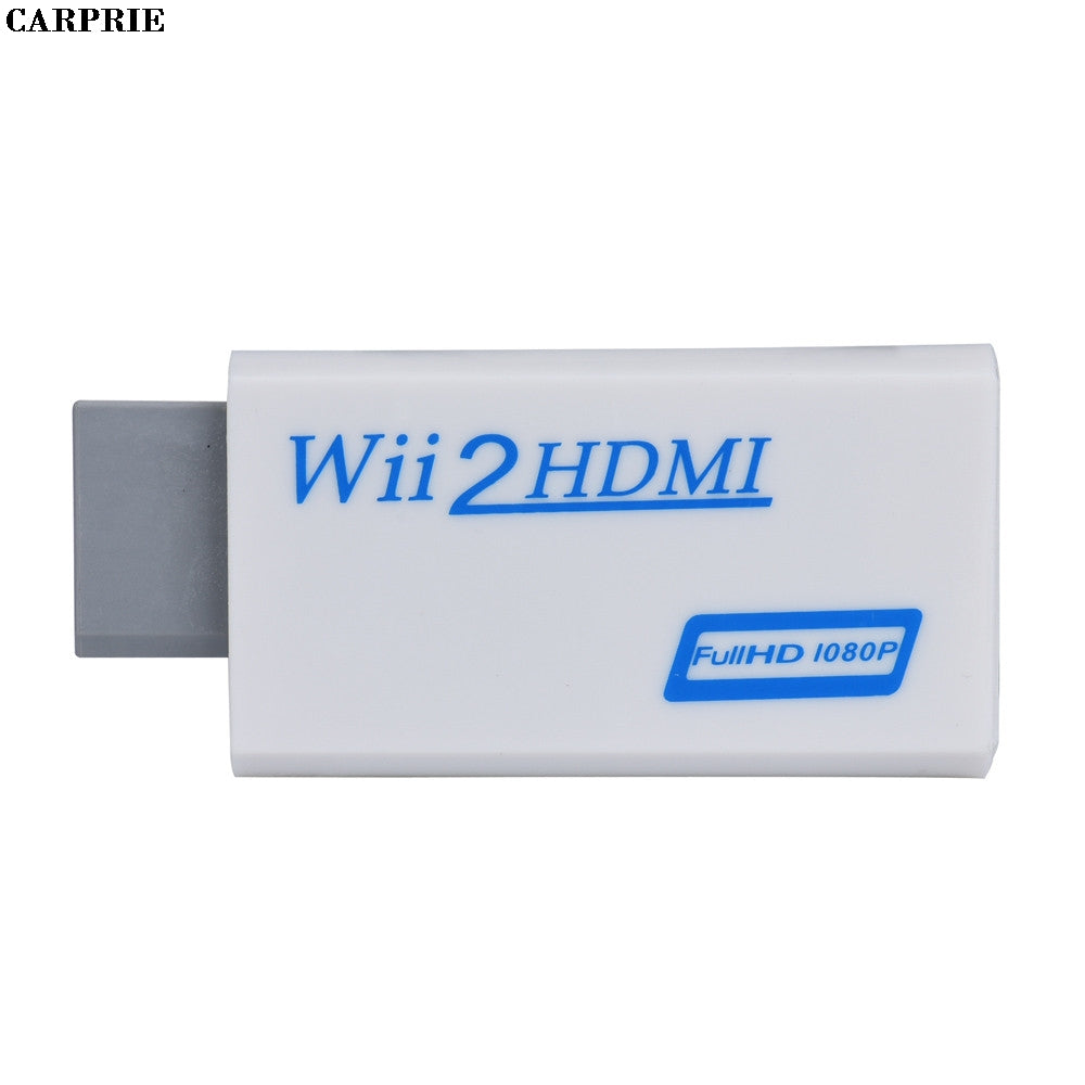 CARPRIE for Wii to HDMI Adapter Converter Support FullHD 720P 1080P 3.5mm Audio for Wii2 HDMI Adapter for HDTV Hot Drop Shipping