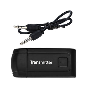 BT450 Mini Wireless Bluetooth Transmitter Stereo Audio Music Adapter for TV Phone PC Y1X2 MP3 MP4 TV PC USB plug