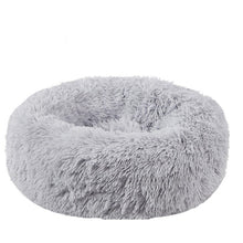 Load image into Gallery viewer, Pet Dog Bed Long Plush Super Soft Pet Bed Kennel Round Dog House Cat Bed For Dogs Bed Chihuahua Big Large Mat Bench Pet Supplies