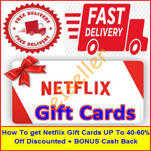 How To get Netflix Gift Card UPTo 40-60%Off Discounted Ebook Pdf (30Second Delivery)
