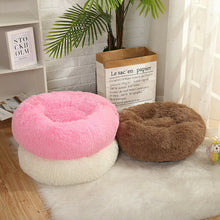 Load image into Gallery viewer, Long Plush Super Soft Dog Bed Pet Kennel Round Sleeping Bag Lounger Cat House