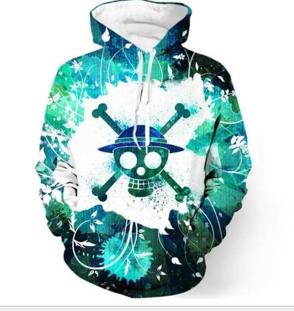 One Piece Anime 3D Hoodie Buyanimeshirt