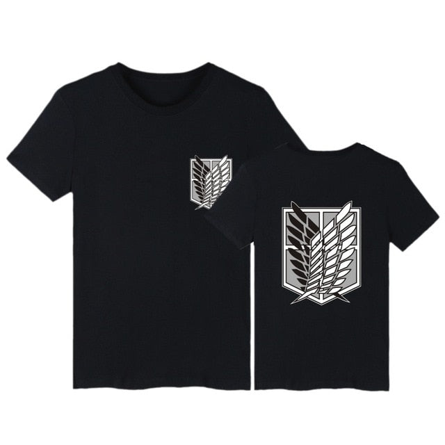 Attack on Titan T-Shirt Short Sleeve buyanimeshirt