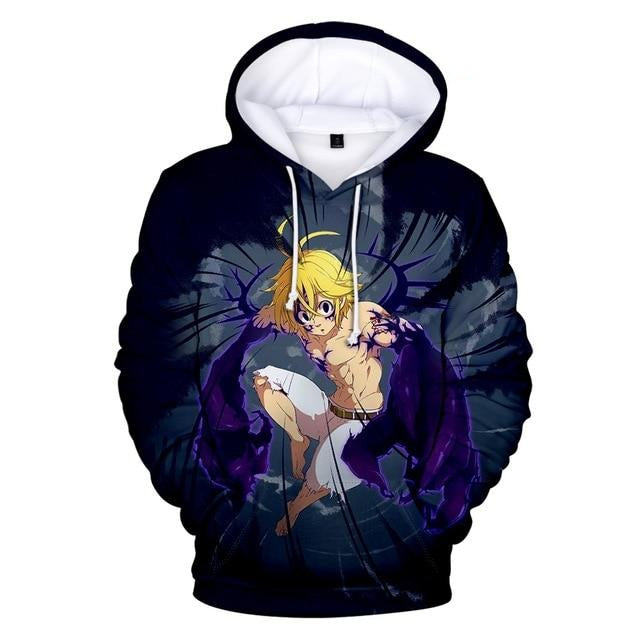 The Seven Deadly Sins Men 3D Hoodie Buyanimeshirt
